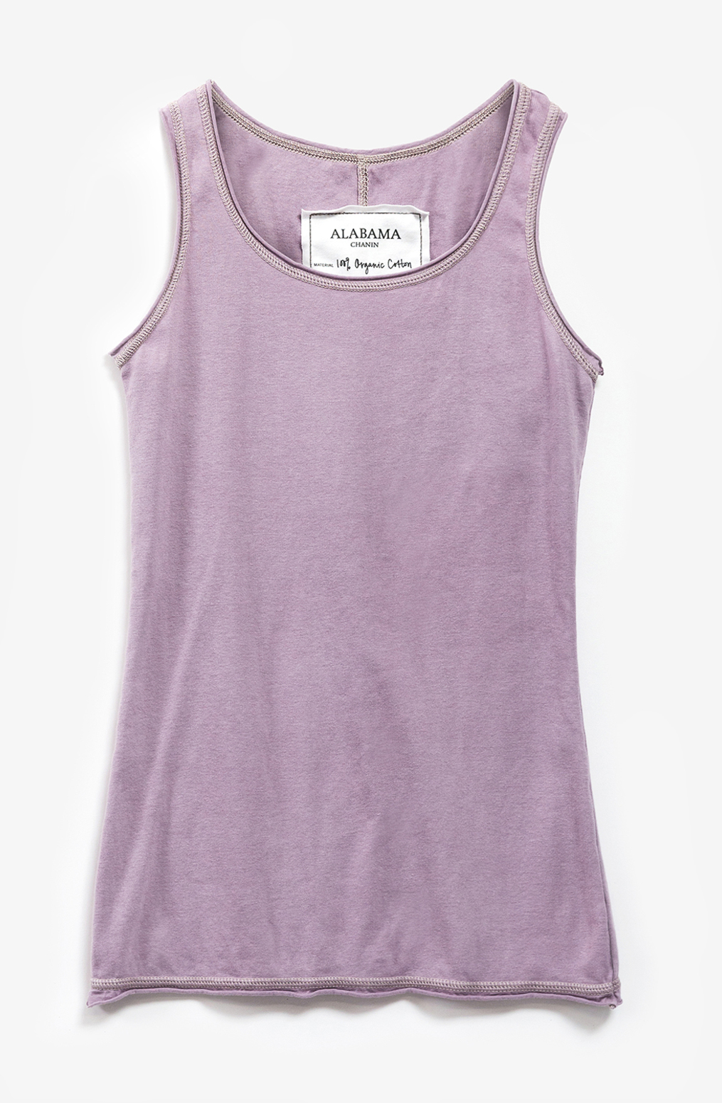 Alabama chanin summer organic cotton layering tank 1