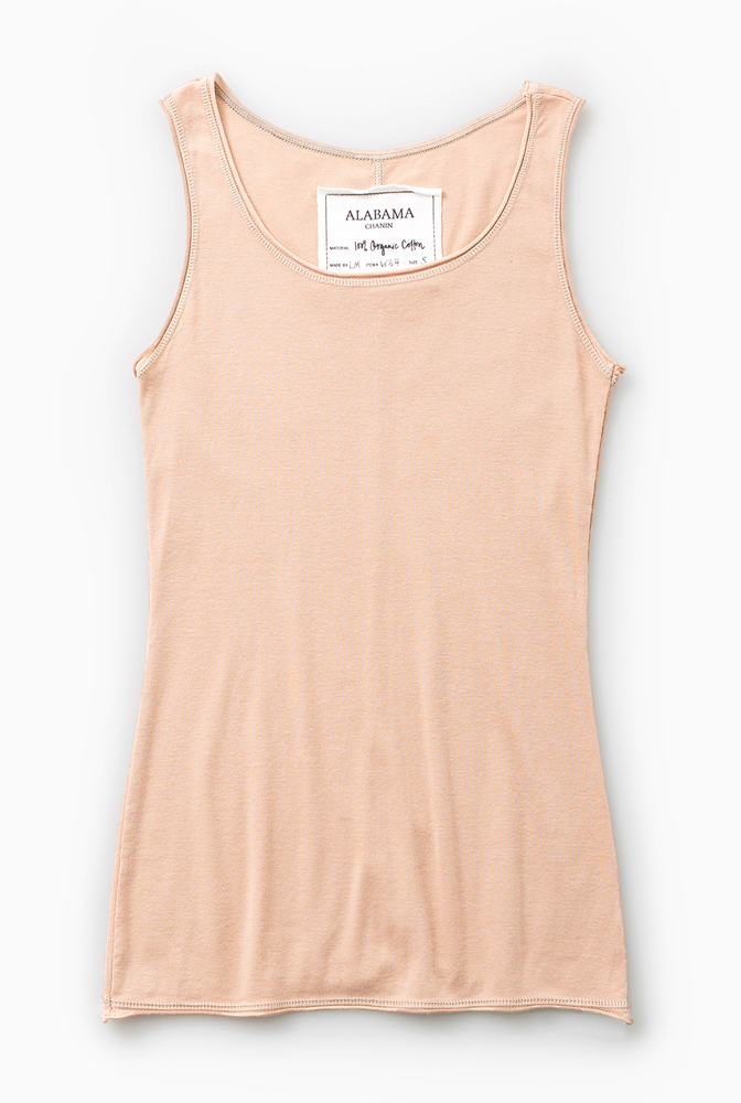 Alabama chanin summer organic cotton layering tank 3