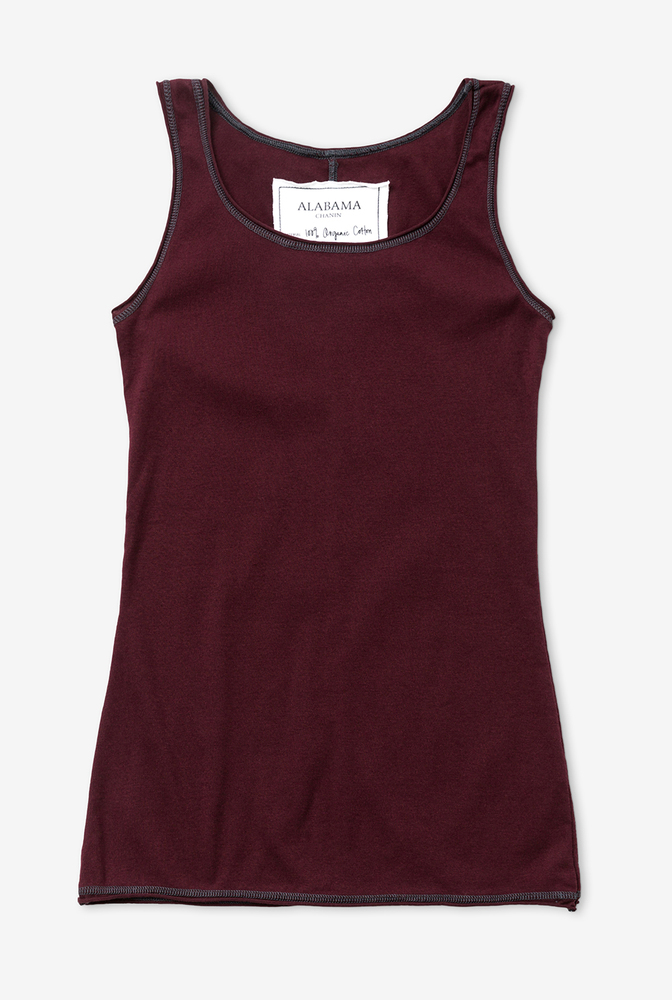 Alabama chanin summer organic cotton layering tank 5