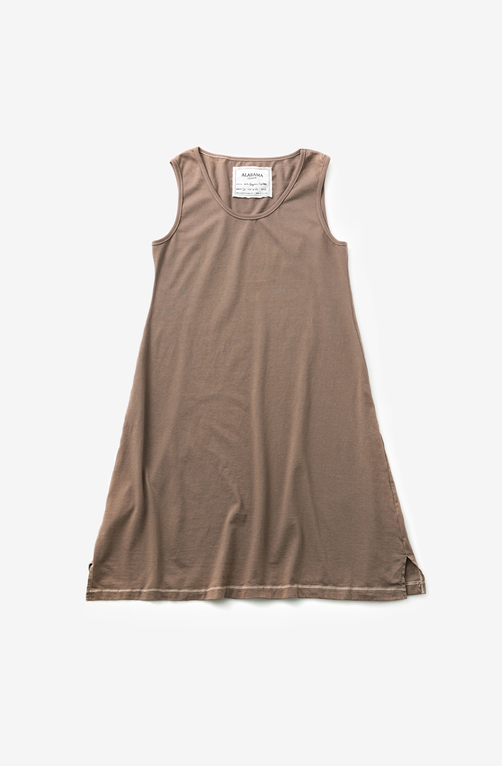 Alabama chanin organic cotton basic summer dress 2