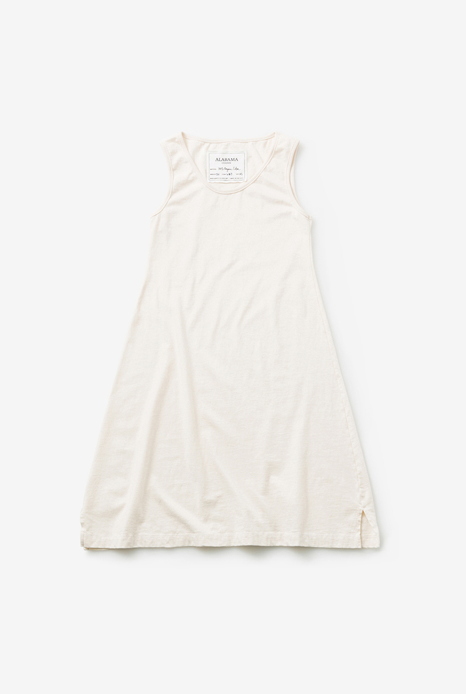 Alabama chanin organic cotton basic summer dress 3