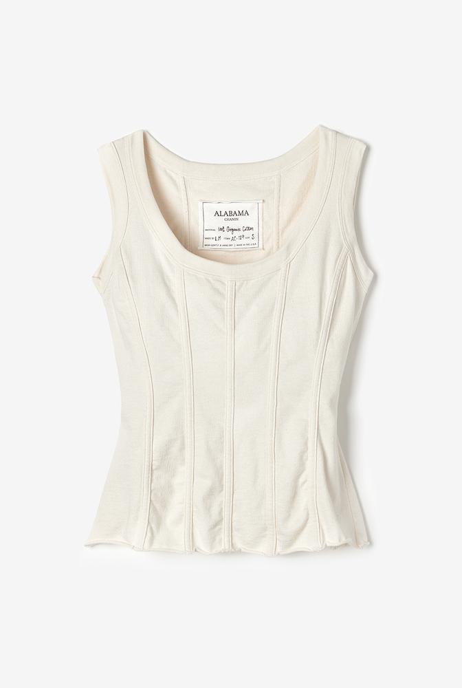 Alabama chanin womens corset knit 1
