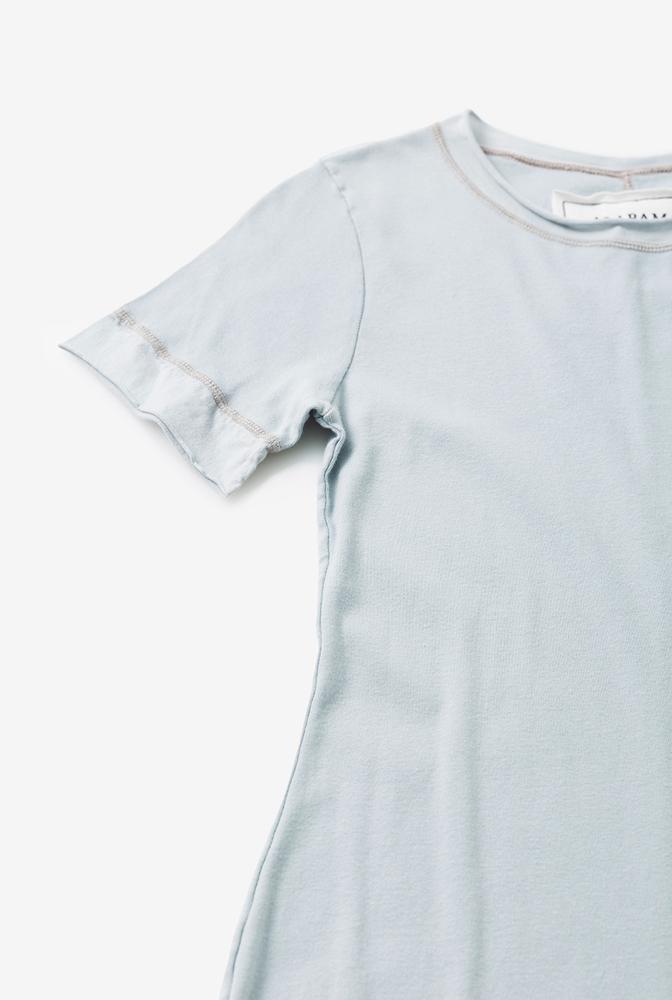 Alabama chanin womens dress cotton crew neck 2
