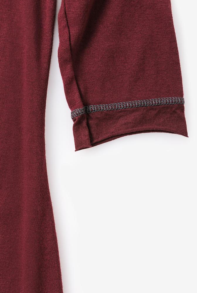 Alabama chanin womens knit dress cotton scoop neck 4