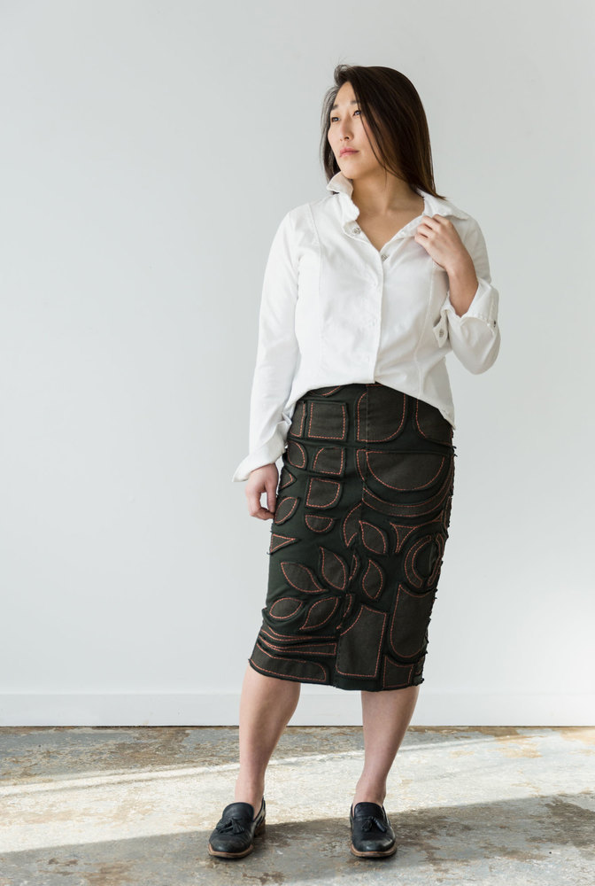 The school of making pencil skirt kit 1