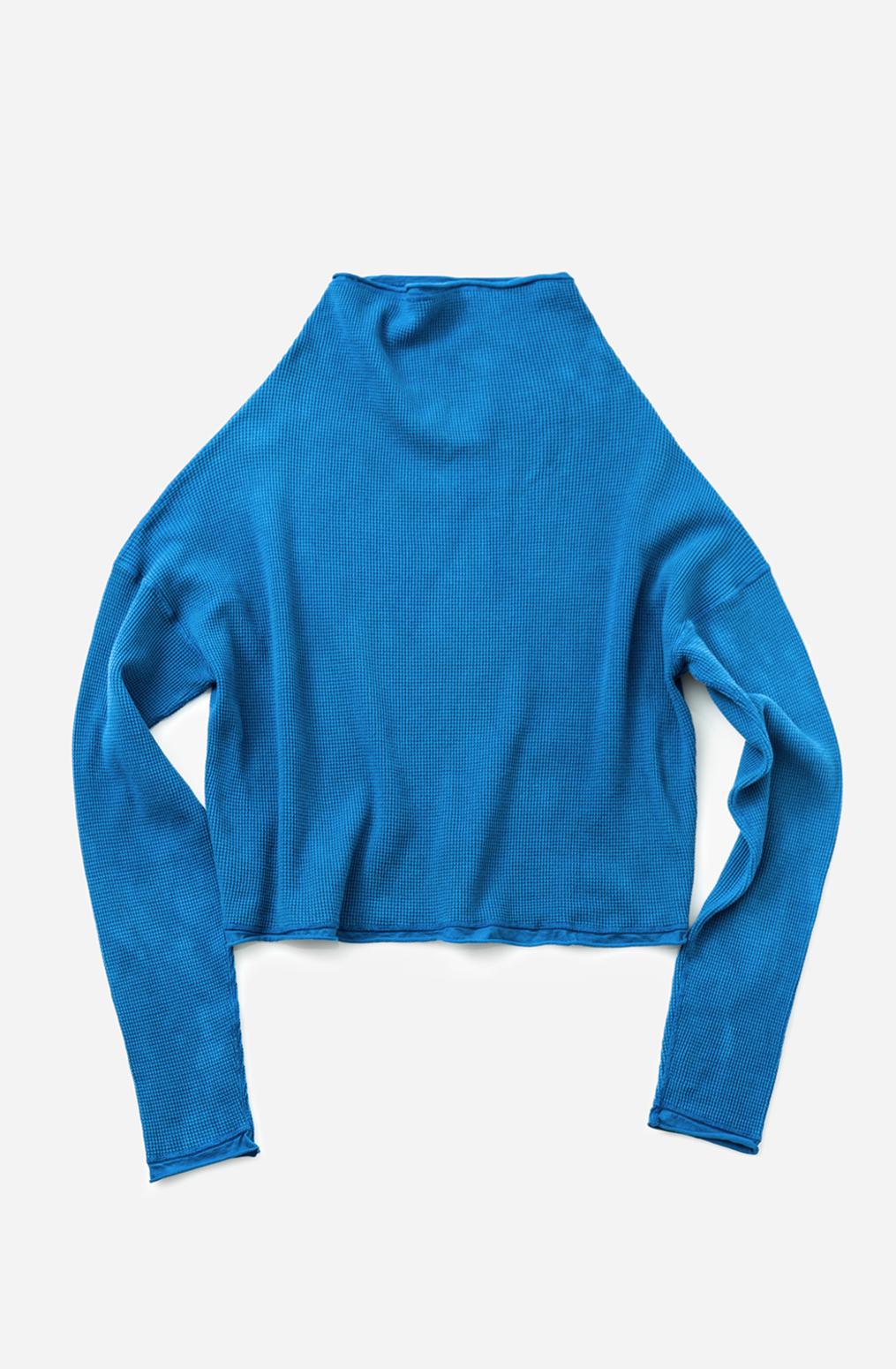 Alabama chanin waffle knit sweatshirt summer style