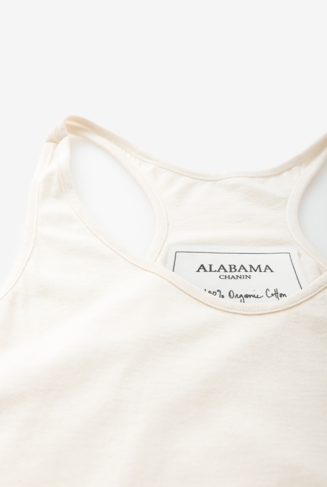 Alabama chanin organic cotton racerback tunic 2