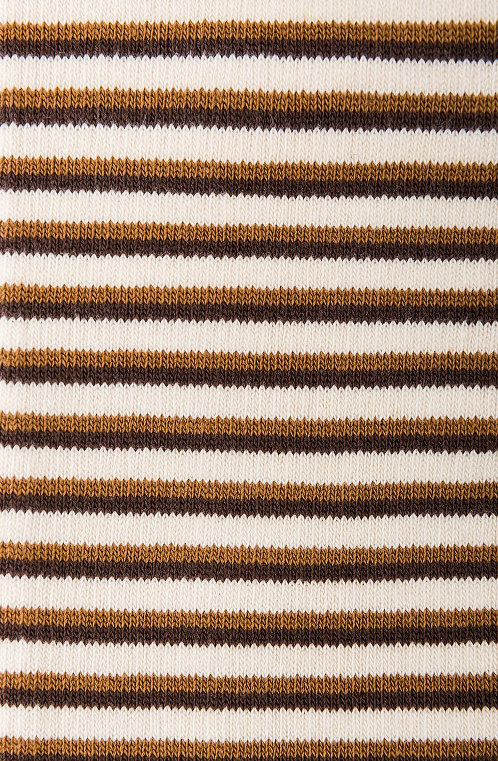 Alabama chanin organic cotton socks with stripes 5