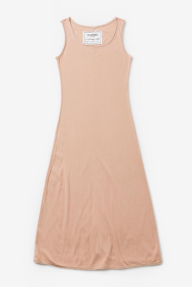 Alabama chanin womens sleep layering cotton slip dress 5