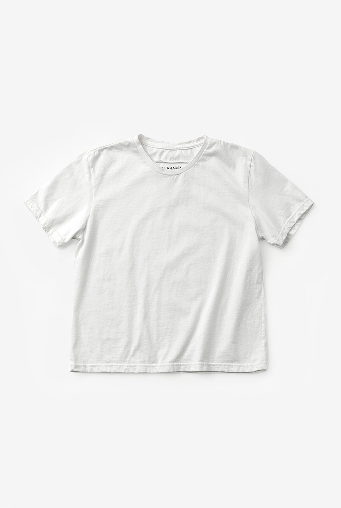 Alabama chanin womens crop organic cotton tee 4