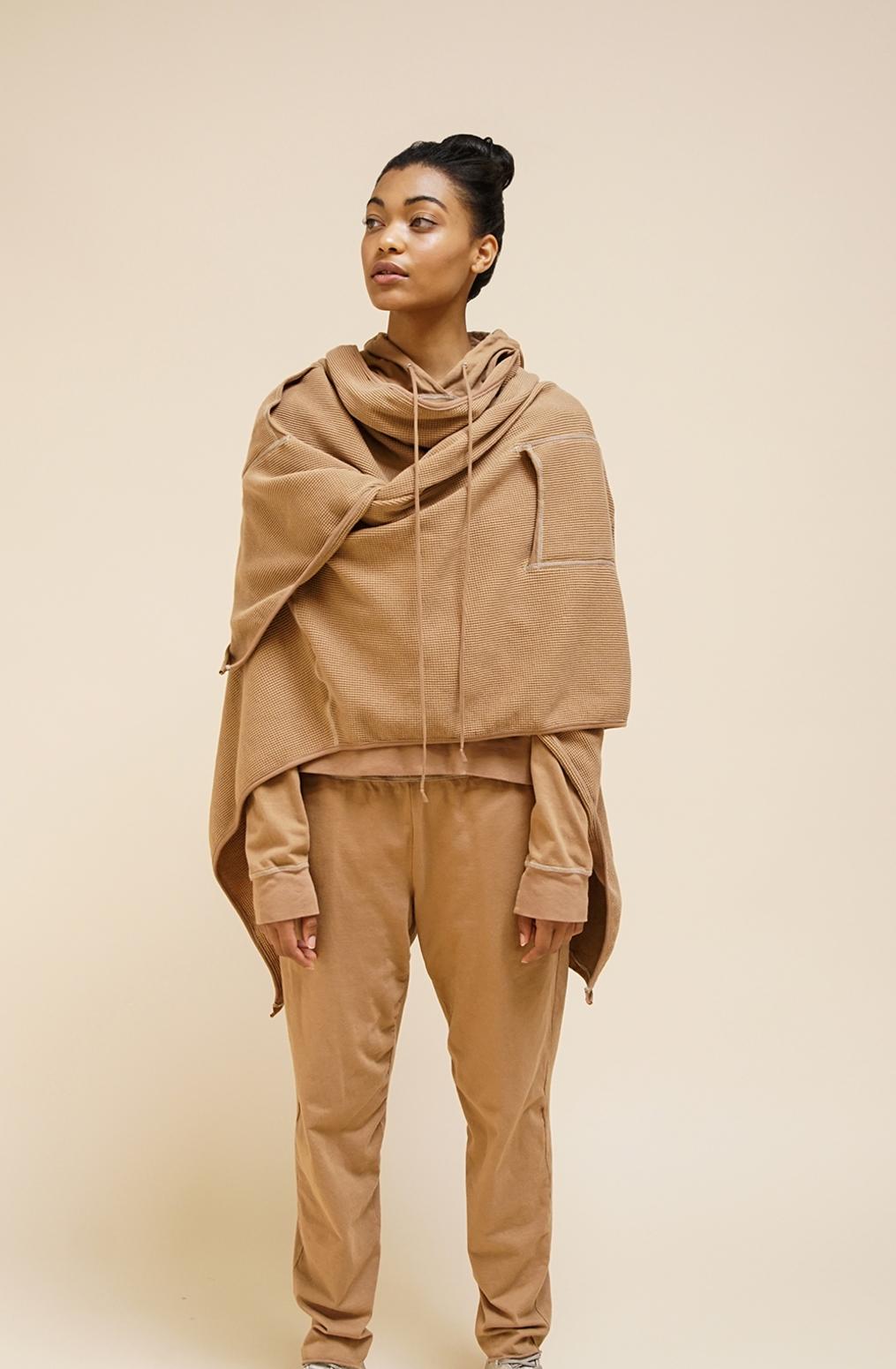 Alabama chanin womens organic cotton hoodie leisurewear 2