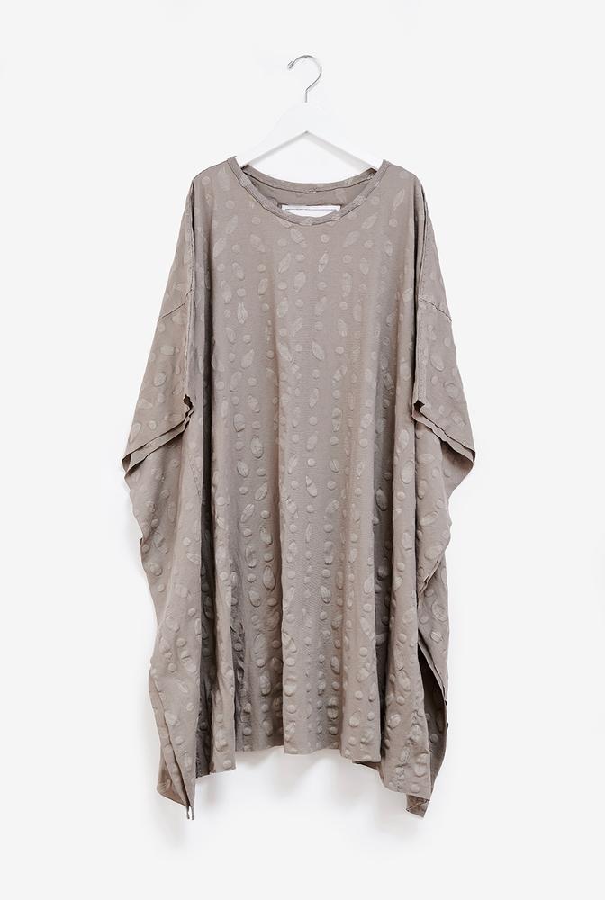 Alabama chanin womens caftan cotton tunic 2