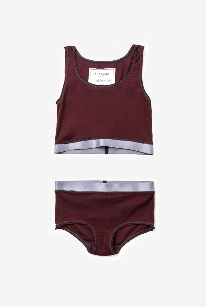 Alabama chanin organic cotton womens underwear boyshorts 4