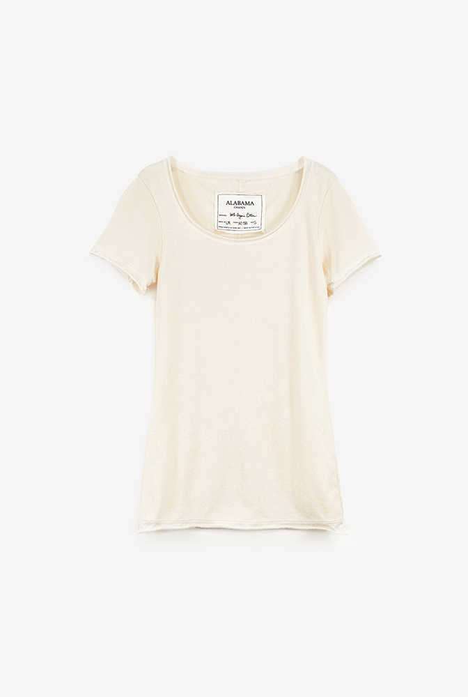 Alabama chanin womens rib knit organic cotton top 4