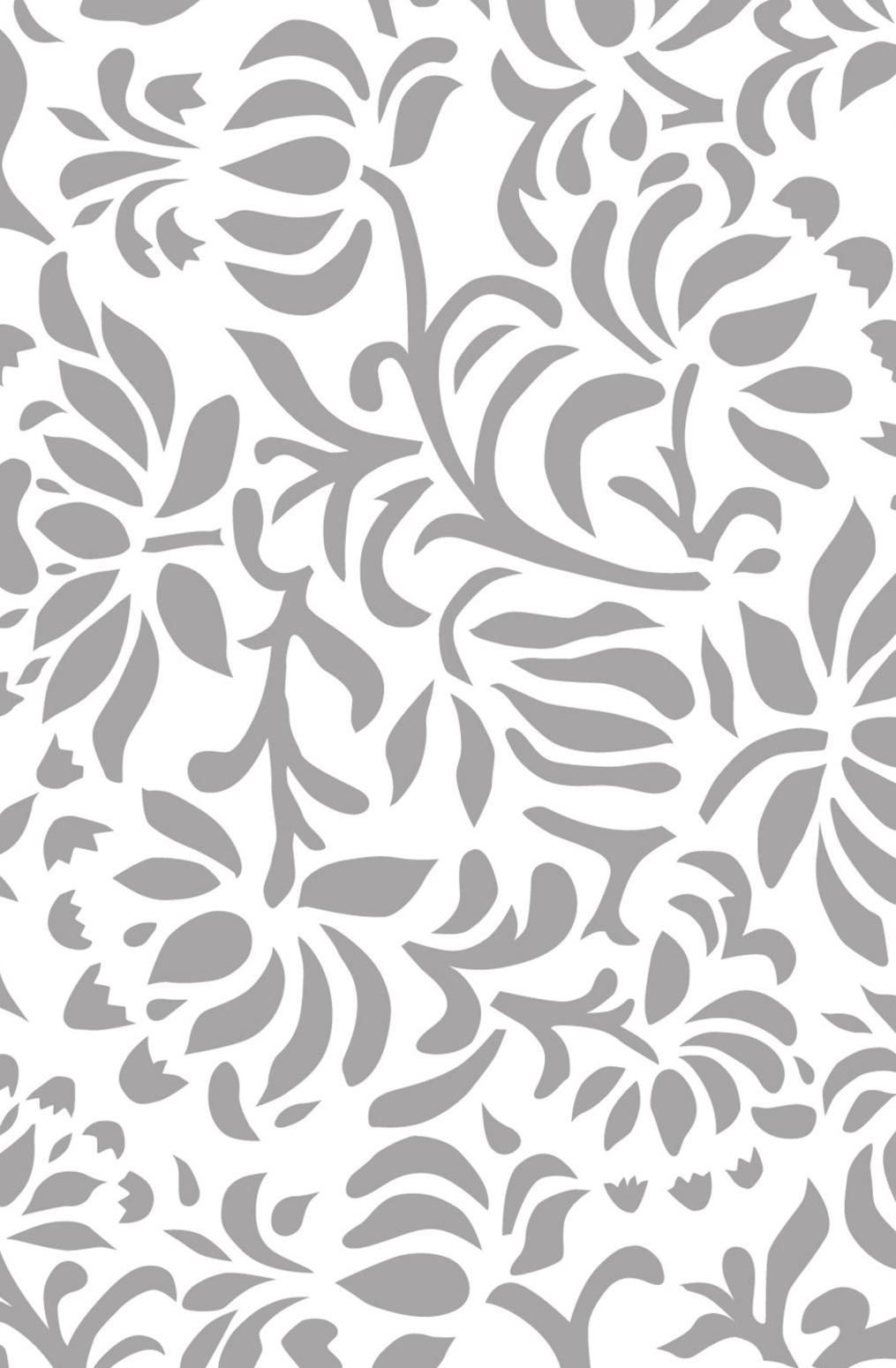 The school of making annas garden stencil grey