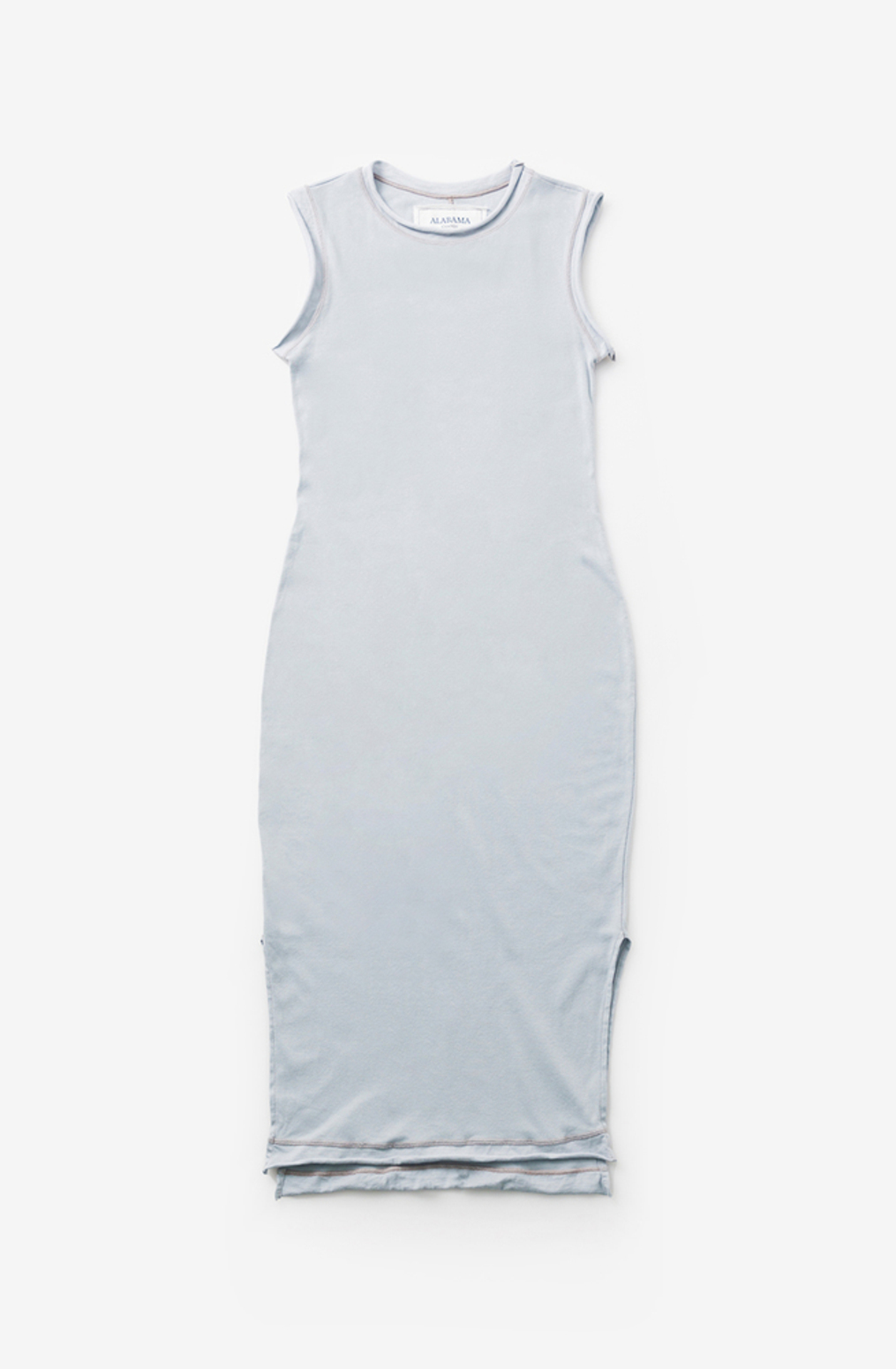 Alabama chanin womens dress cotton crew neck 4