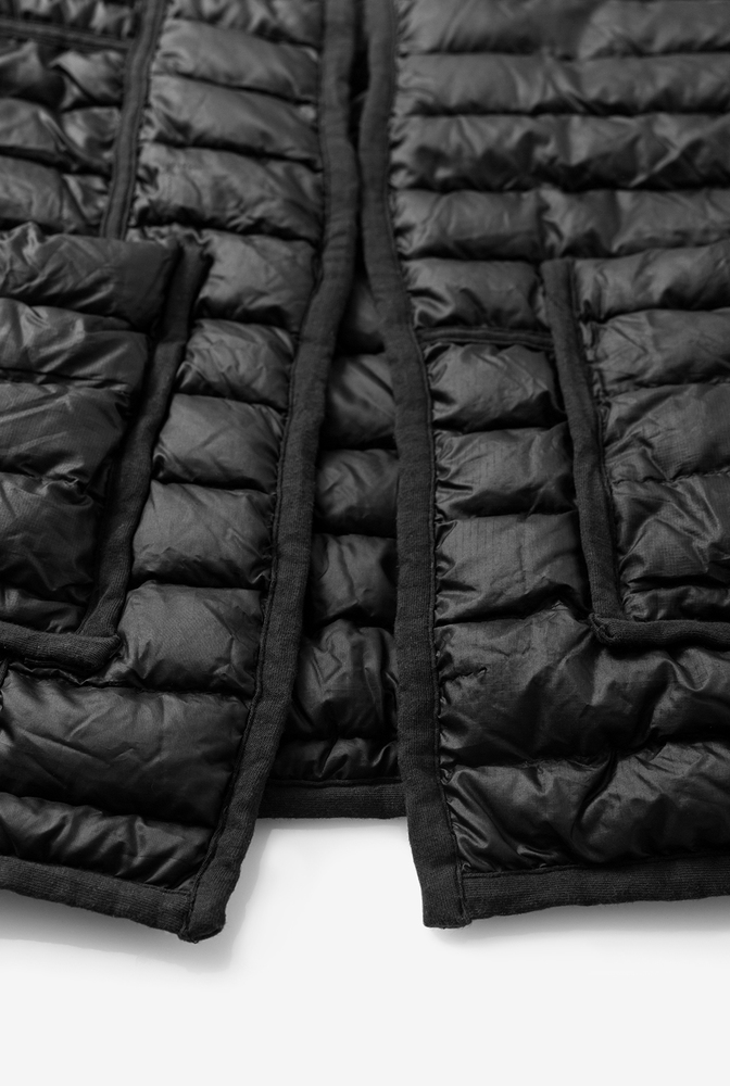 Alabama chanin patagonia collaboration reclaimed down vest accessory 4