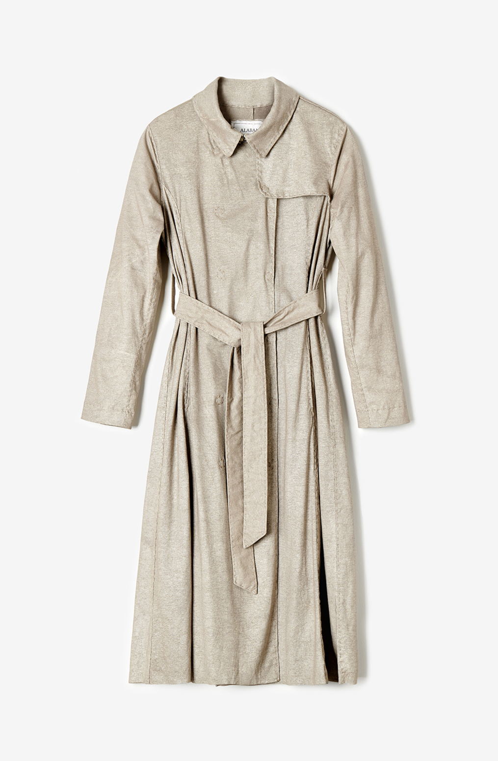 Alabama chanin womens coat the trench organic cotton 2