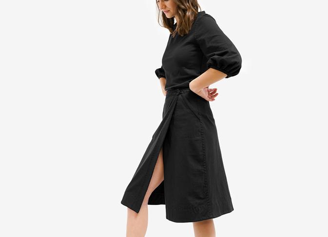 The Wrap Skirt