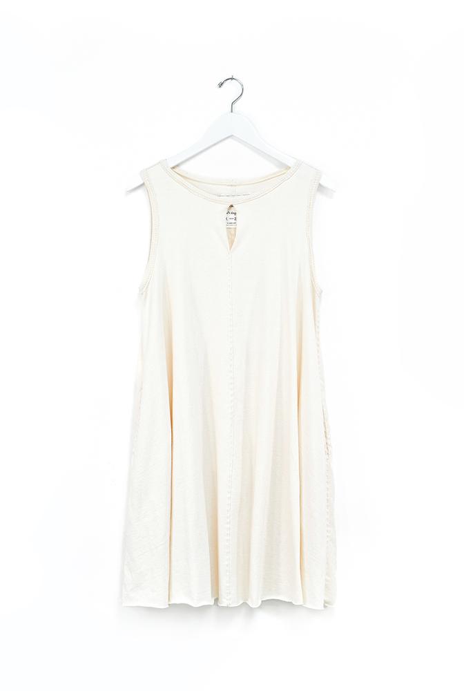 Alabama chanin keyhole cotton womens aline tunic 2