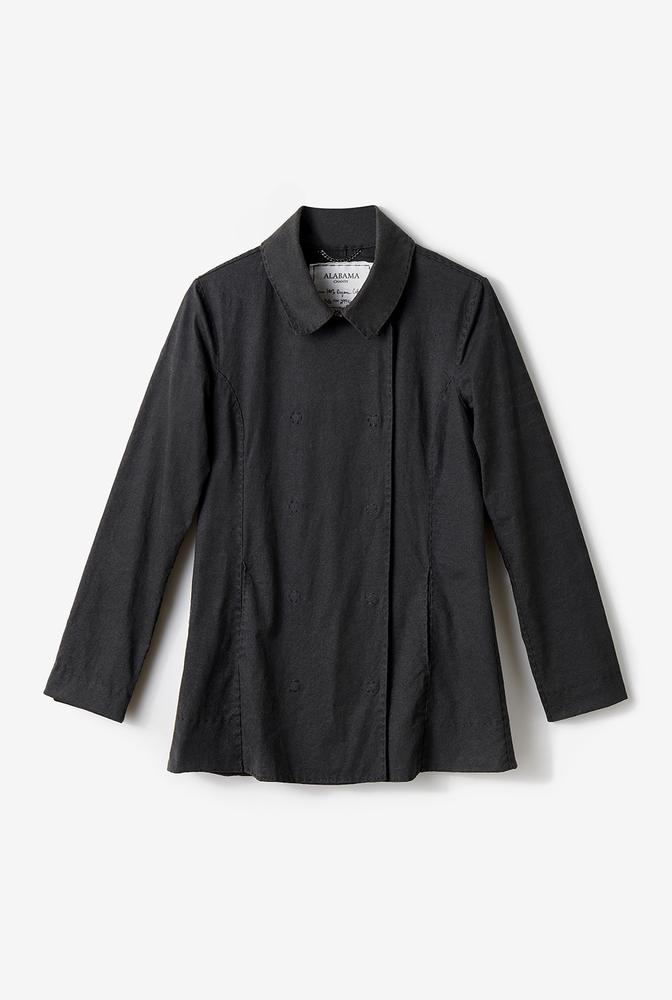 Alabama chanin womens peacoat coat jacket 3