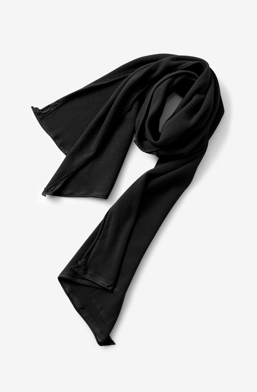 Alabama chanin waffle wrap scarf 3