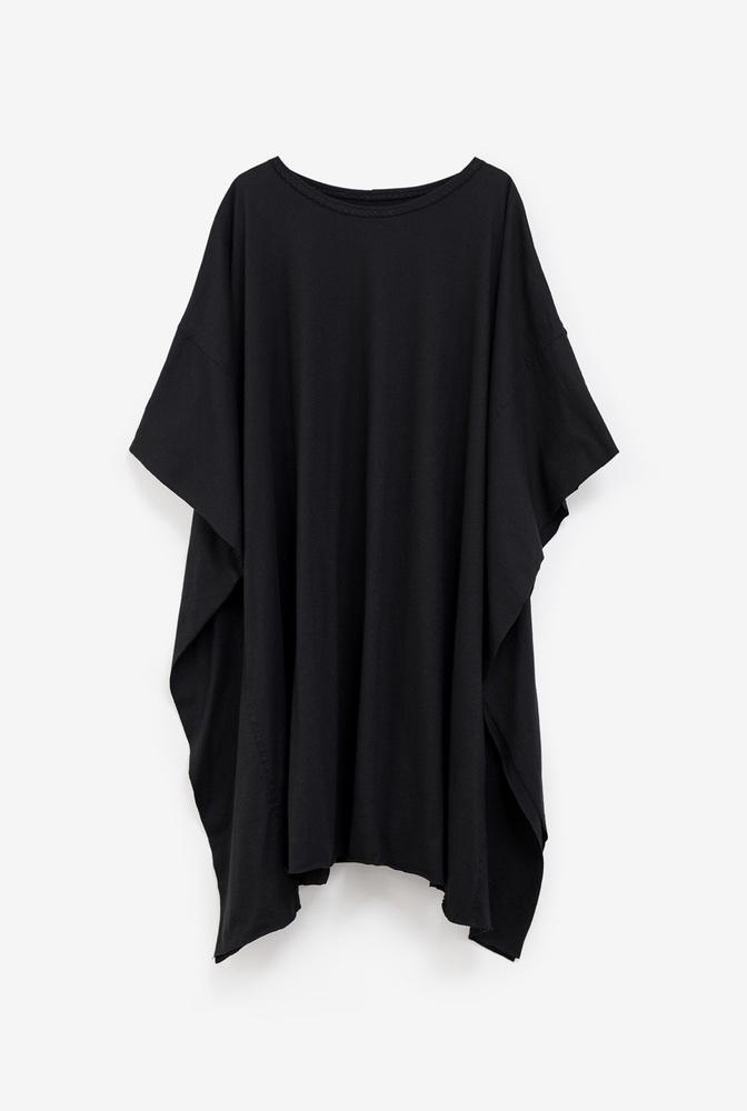 Alabama chanin womens caftan cotton tunic dress 3