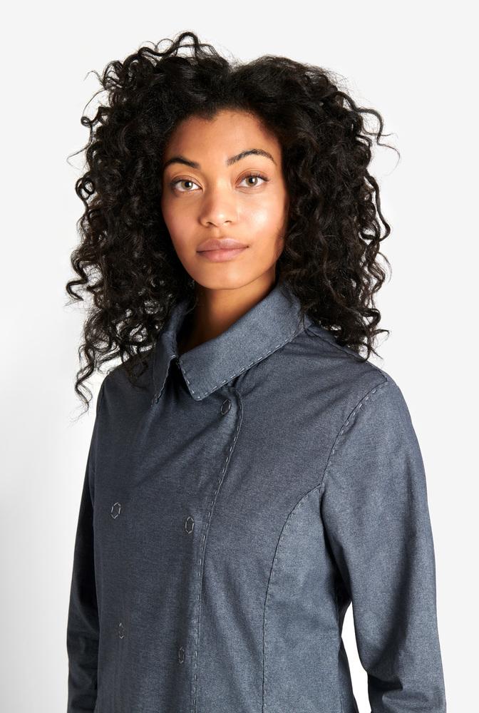 Alabama chanin womens peacoat coat jacket 2