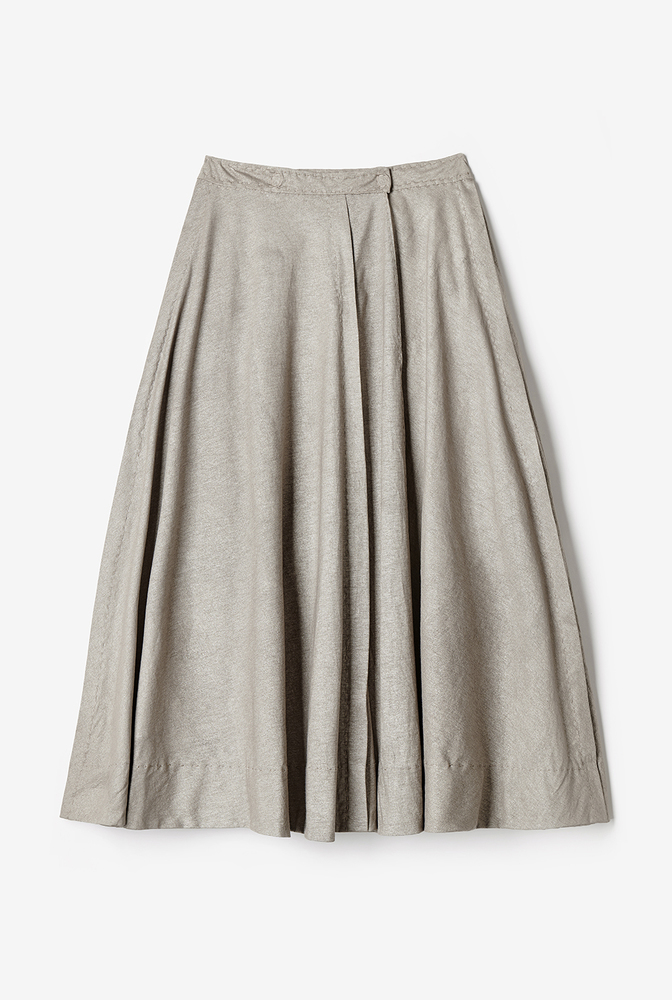 Alabama chanin womens woven tailored wrap skirt 1