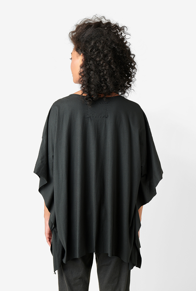 Alabama chanin womens organic cotton caftan top 3