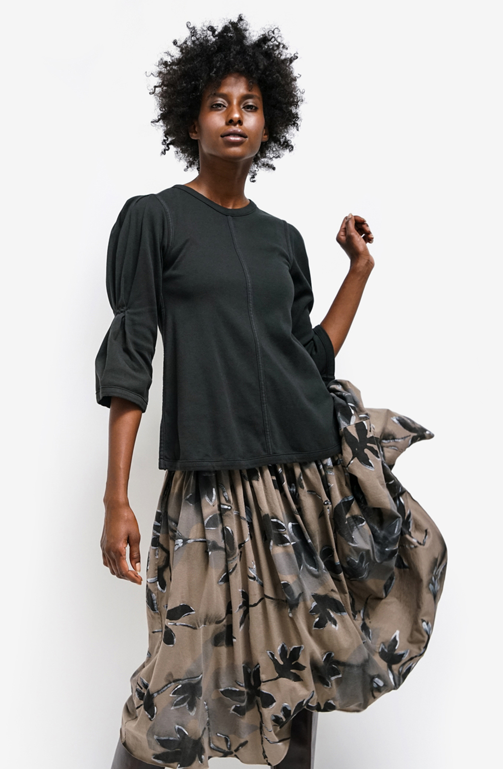 Alabama chanin womens organic cotton skirt celia florence 2