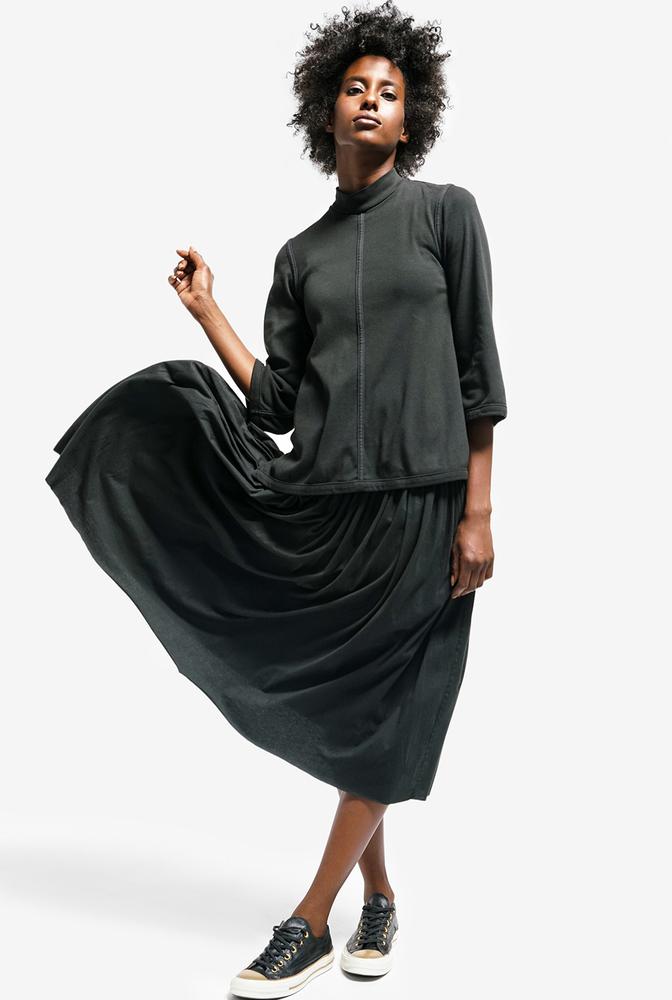 Alabama chanin womens organic cotton skirt celia florence 3