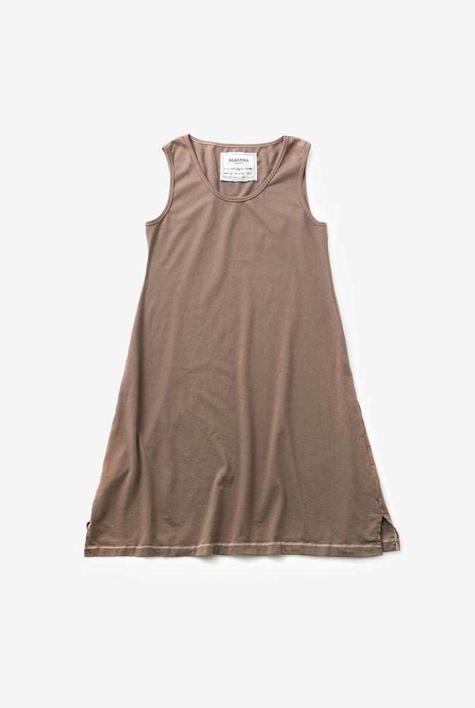Alabama chanin organic cotton basic summer dress 2