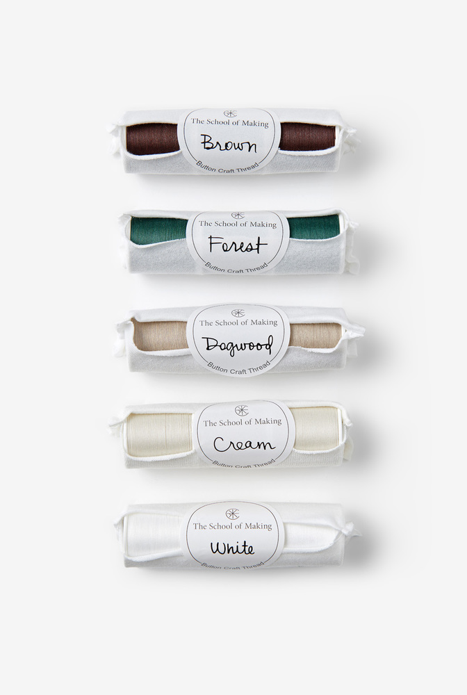 The school of making organic fabric thread embroidery floss color bundle 4