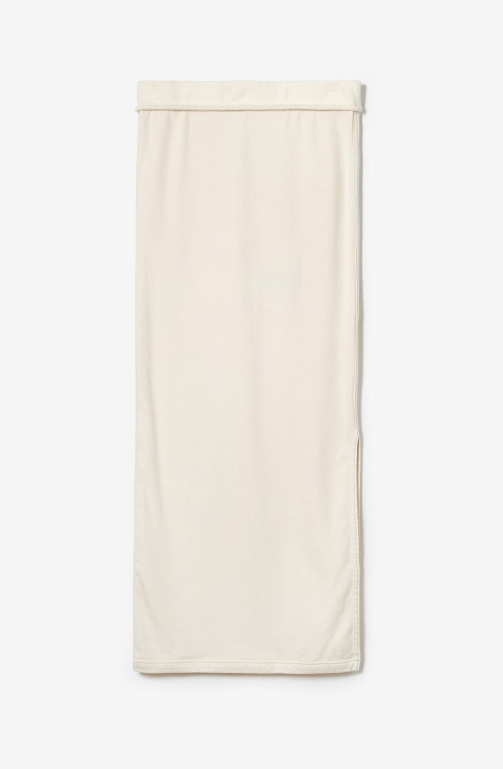 Alabama chanin essential skirt organic cotton rib 2