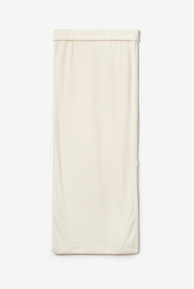 Alabama chanin essential skirt organic cotton rib 2