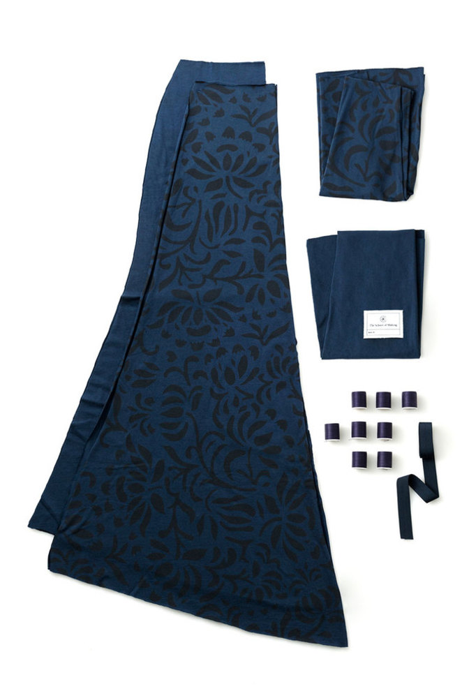 The school of making long fitted skirt diy sewing kit3