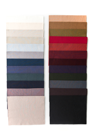 The school of making organic cotton jersey color fabric 1