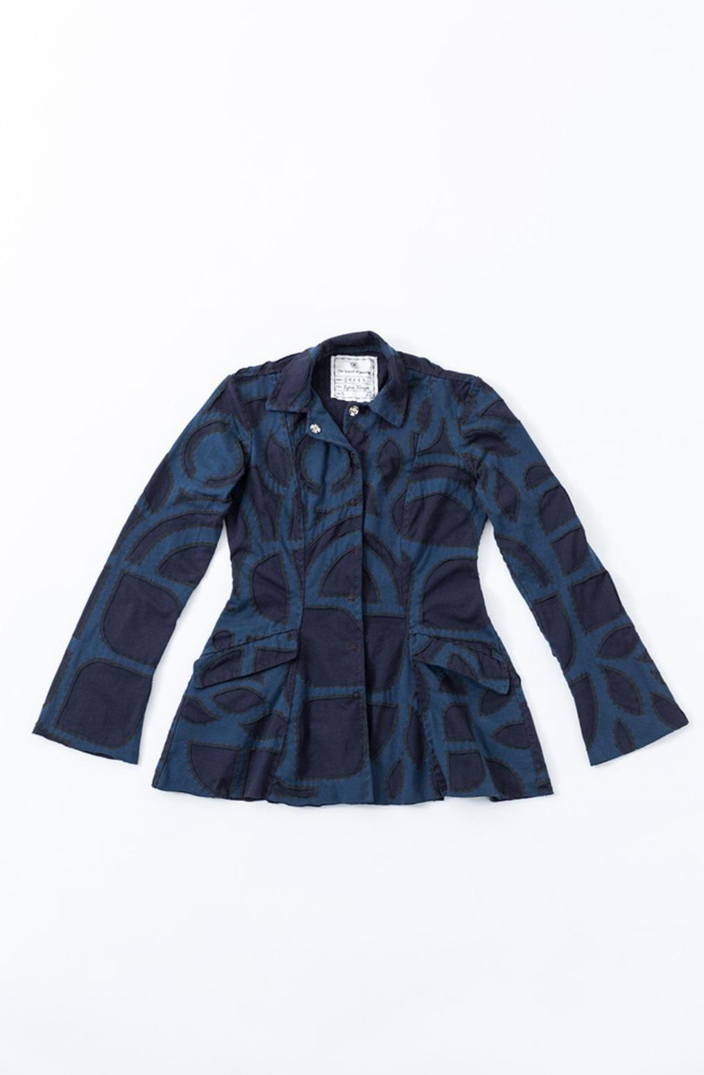 Ezra coat pattern   ezra jacket   abstract   peacock navy   a 870   29583   january 2020   abraham rowe1