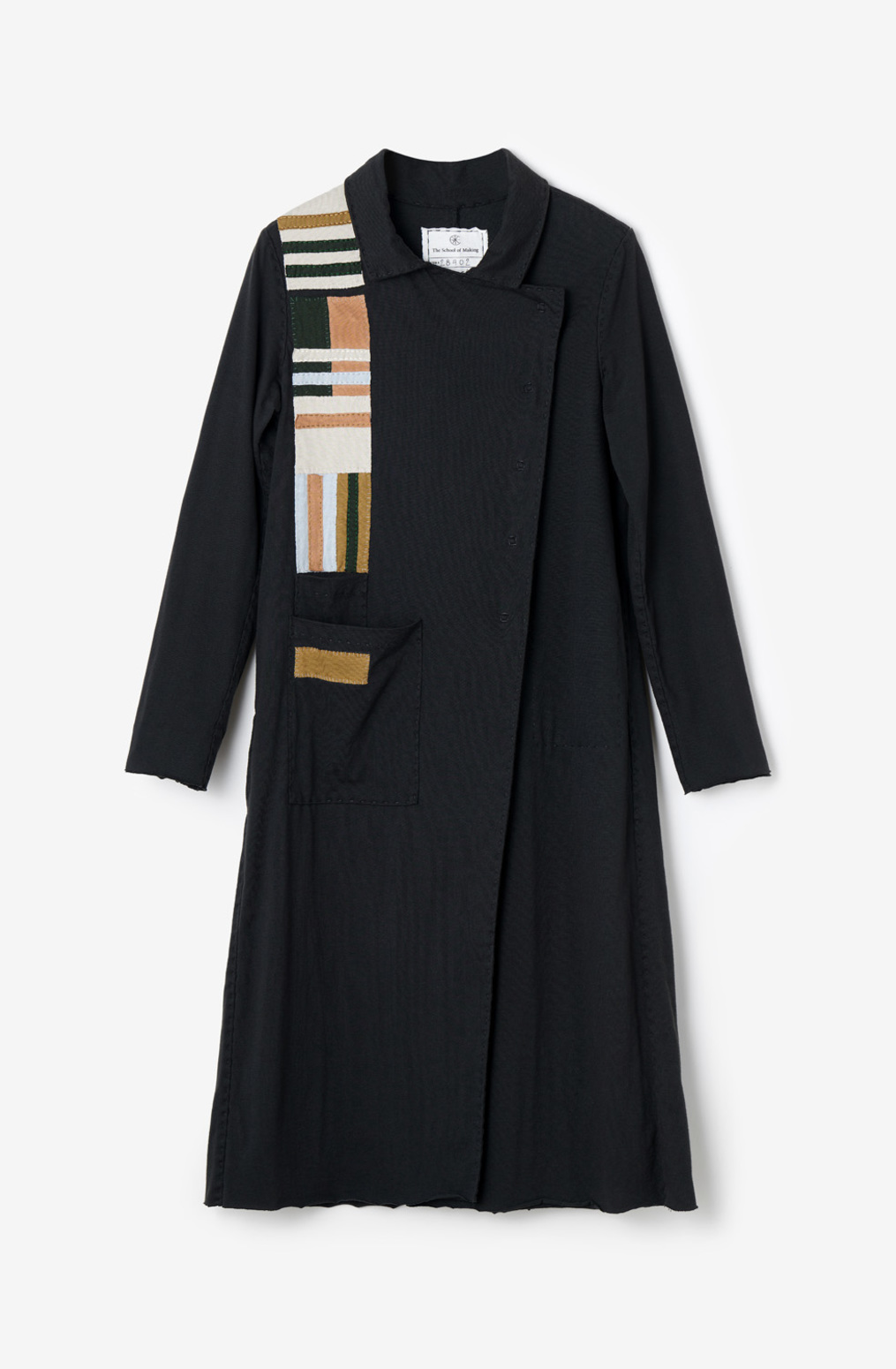 The school of making asymmetrical trench peacoat diy project bundle 1