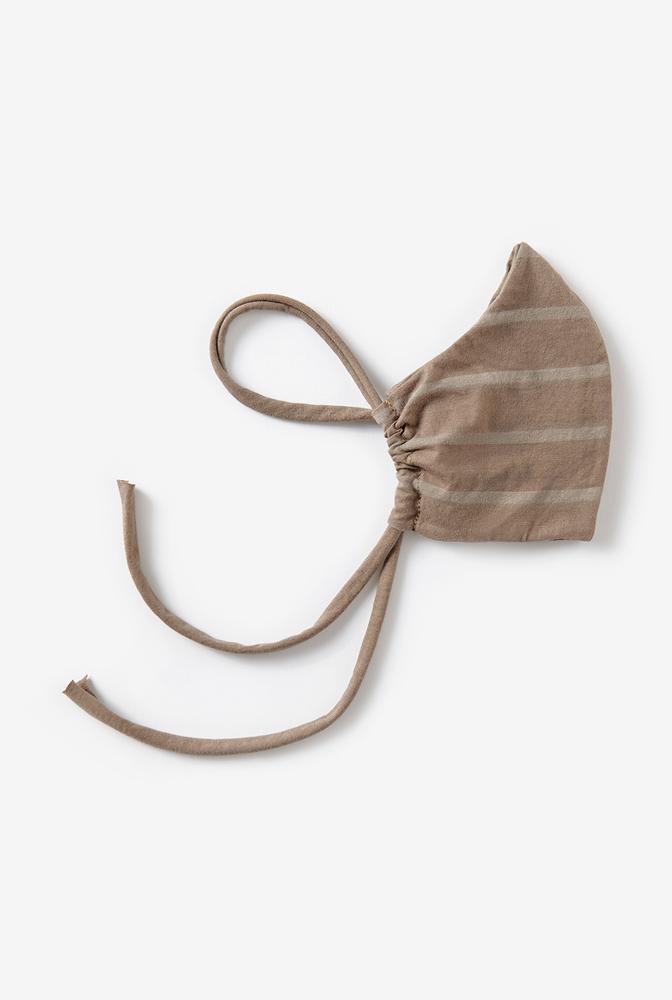 Lightweight organic cotton face mask   faded stripe   concrete   ac 143   august 2020   robert rausch 3   edit vert