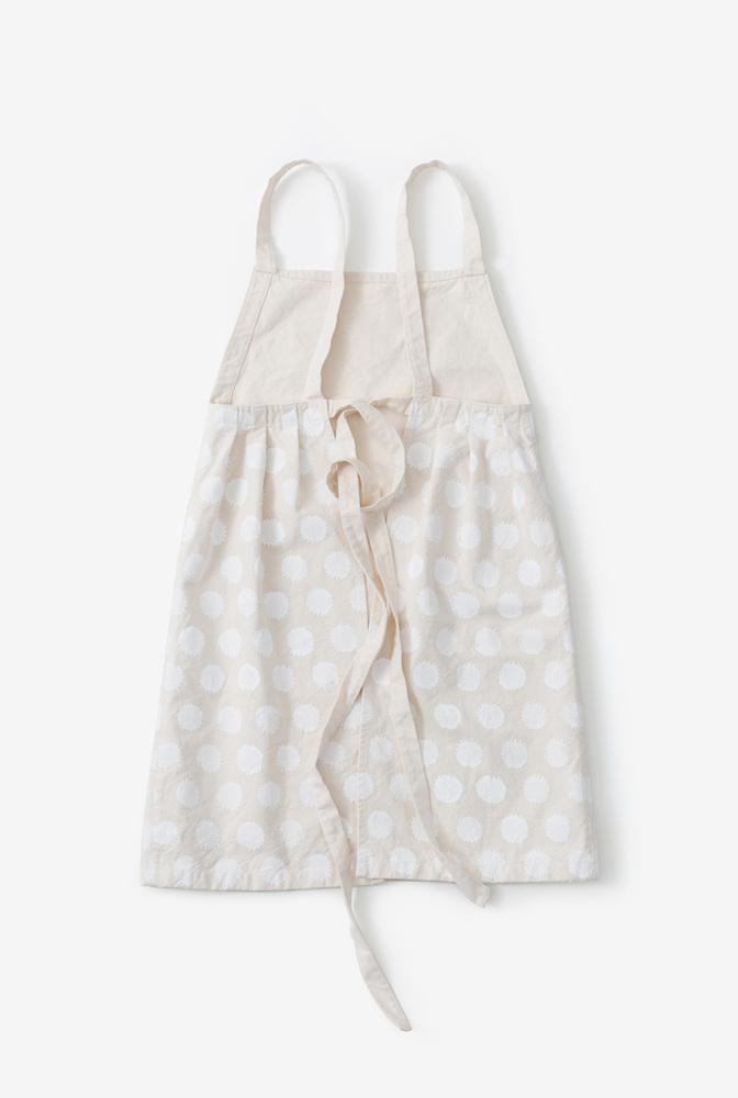 Alabama chanin hable handmade organic cotton apron 4