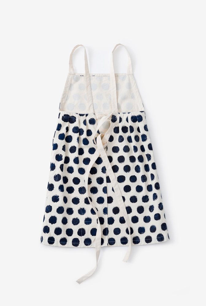 Alabama chanin hable handmade organic cotton apron 5