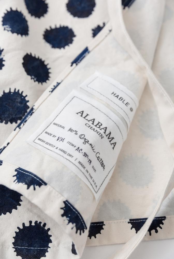 Alabama chanin hable handmade organic cotton apron 6