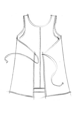 The school of making maggie dress pattern 3