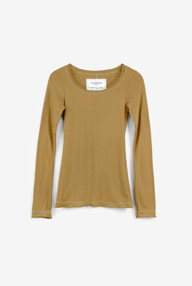 Alabama chanin womens essential rib knit organic cotton top 1
