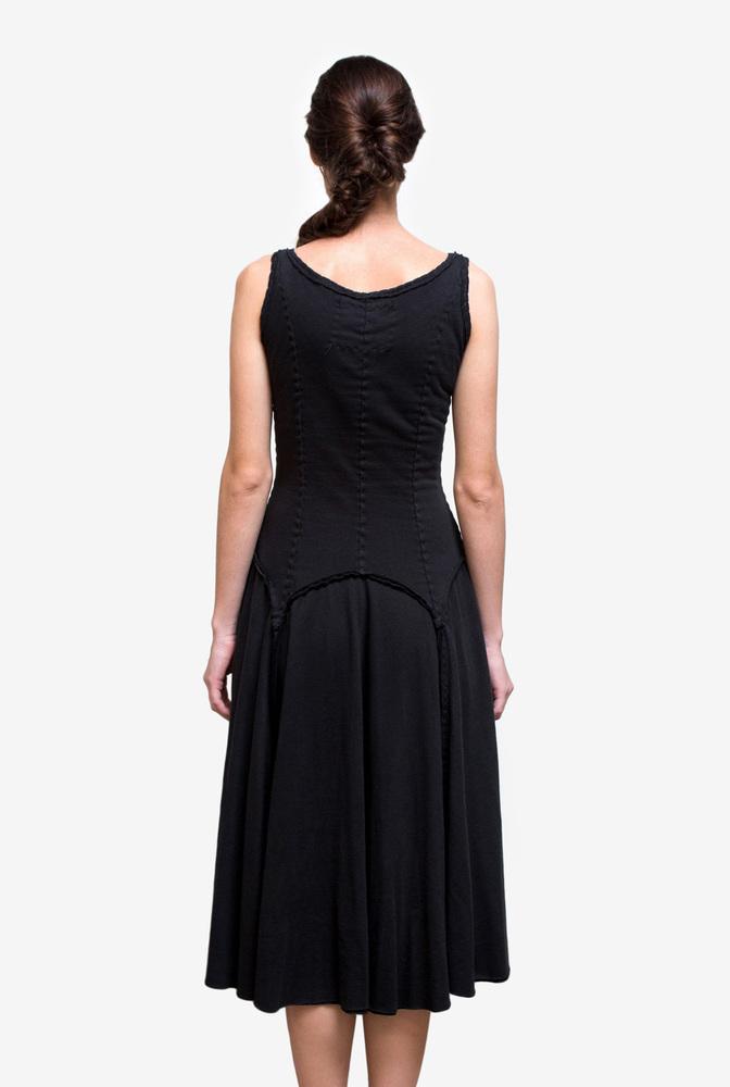 Alabama chanin womens organic cotton garter dress 1