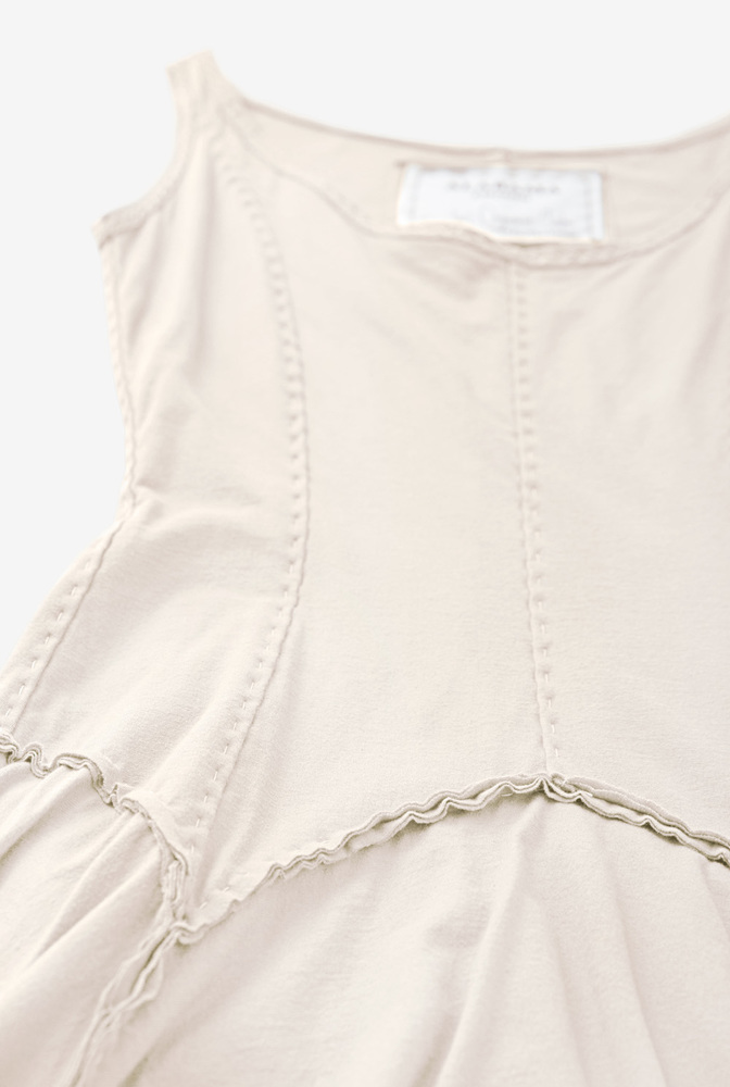 Alabama chanin womens organic cotton garter dress 2