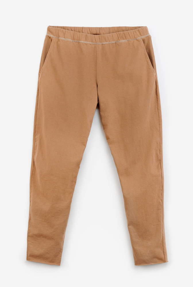 Alabama chanin organic cotton pullon jogger pants