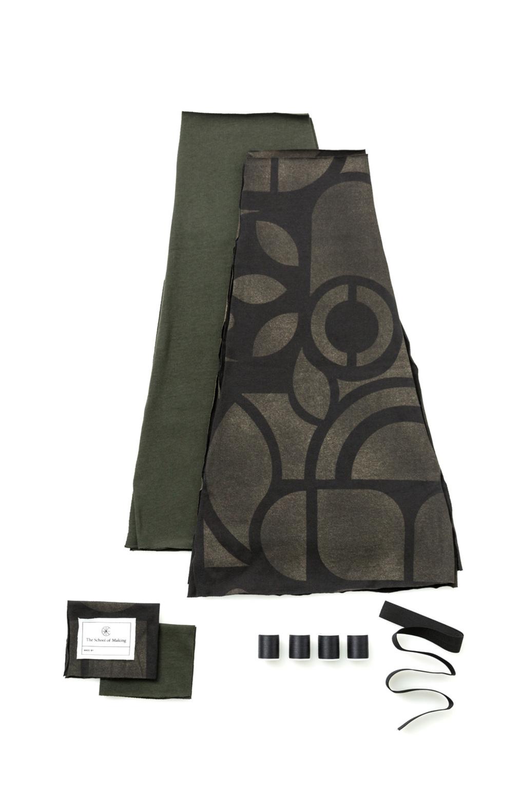 The school of making swing skirt diy kit